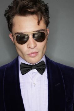 Ed westwick and his british accent! Omg he can talk to me all day err day!