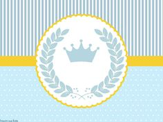 Tubete Baby Shower Templates, Crown Party, Baby Shawer, Baby Born, Baby Frame, Glass Centerpieces, First Tooth, The Little Prince, Baby Winter
