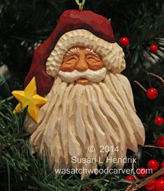 It's a Santa Parade. by M.A.Dellinger Wood Carving on Etsy