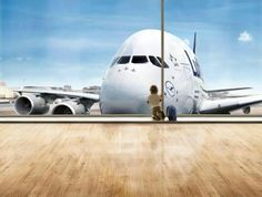 A kid watching the beast A380 travel and #save 50% on airfare with #AirConcierge.com