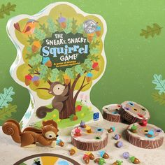 Amazon.com: Educational Insights The Sneaky, Snacky Squirrel Game: Toys & Games