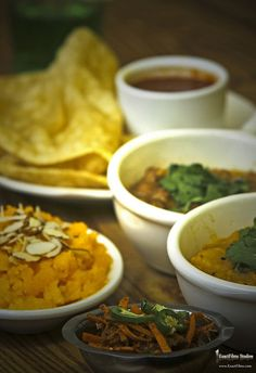 Halwa Puri and Potato tharkari: Pakistani breakfast or brunch