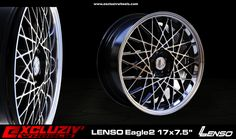 "Jante Lenso Eagle2 17x7.5"""