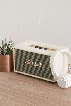 Retro Marshall Acton Speaker - Shop Marshall Acton Speaker at Urban Outfitters today. We carry all the latest styles, colours and brands for you to choose from right here. My New Room, My Room, Marshall Acton, Room Inspiration, Design Inspiration, Kitchen Inspiration, Design Ideas, Style Retro, Marshall Speaker