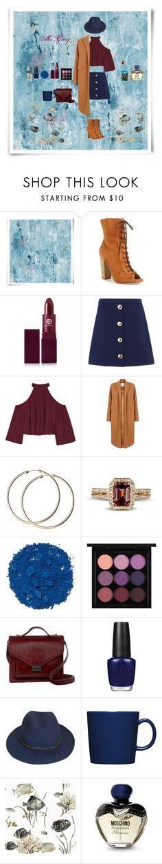 """rainy day"" by fmsgray ❤ liked on Polyvore featuring Designers Guild, Kristin Cavallari, Lipstick Queen, Love Moschino, W118 by Walter Baker, The 2nd Skin Co., Illamasqua, MAC Cosmetics, Loeffler Randall and OPI"
