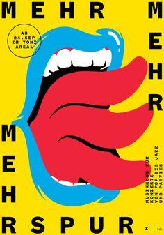 Mehr Mehr Mehrspur, by Benjamin Burger and Adrien Moreillon (2014) for Musikklub Mehrspur, Zürich CH