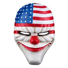 New Payday 2 Game Dallas Cosplay Mask Heist Joker Costume Props Collection - Go Shop Clothes Mascaras Halloween, Halloween Masks, Scary Halloween, Halloween Party, Joker Mask, Clown Mask, Eye Masks, Joker Cosplay Costume, Scary Films