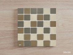 C/G/Brown Anti-slip Porcelain Mosaic Sheet Sizes, Butcher Block Cutting Board, Mosaics, Sunrise, Porcelain, Brown, Porcelain Ceramics, Brown Colors, Mosaic