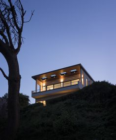 House with a gallery open to the community design milk design milk com