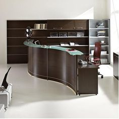 wooden reception desk volta 8v quick overview wengue reception desk version 23 posts bridge reception counter office line