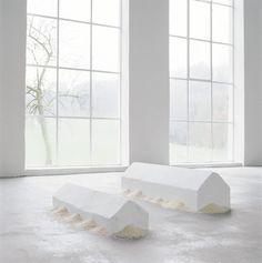 Wolfgang Laib - Rice Houses