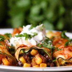 "Zucchini ""Enchiladas"" Recipe by Tasty"