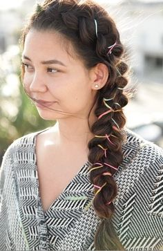 Beautiful ribbon braid