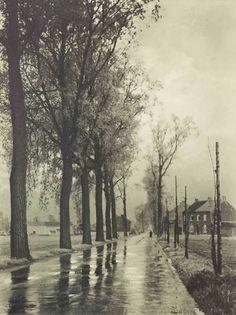 Léond Misonne :étude de reflets 1940