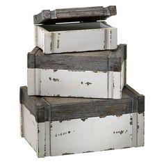 3 Piece Adler Decorative Box Set