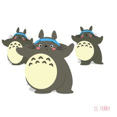 What's better than one Totoro?