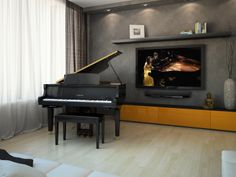 Yamaha's exclusive streaming service DisklavierTV™ brings LIVE and on demand concerts into your home in perfect synchronization, so that you can watch the keys of your Disklavier come to life in real time with the artist's performance!