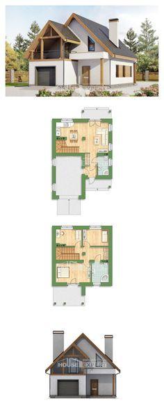 Проект на къща 120-005-R | House Expert