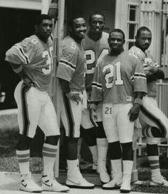 Alonzo Highsmith, Melvin Brarton Warren Williams, J.C. Penny and Darryl Oliver