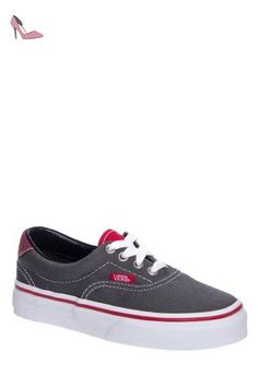 U Authentic - Baskets Basses - Mixte Adulte - Rouge (Port Royale/Black) - 38.5 EUVans