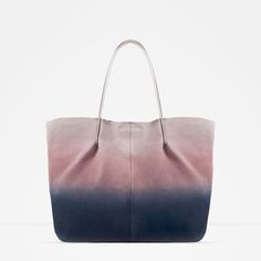 OMBRÉ LEATHER TOTE-View all-WOMAN-NEW IN | ZARA United States