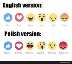 Expressing Different Emotions (in Polish) Funny Shirts For Men, Different Emotions, Everything Funny, Cs Go, Best Games, Best Funny Pictures, Poland, Haha, Facebook