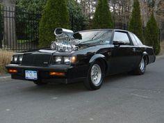 Black  Blown Buick Grand National