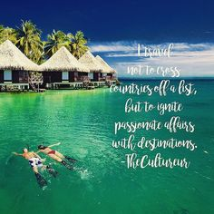 """""""I travel not to cross countries off a list, but to ignite passionate affairs with destinations."""" #travelquotes #traveltheworld #trip #quotes"""