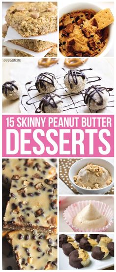Take one bite out of these peanut butter desserts and you'll be happy  you did!