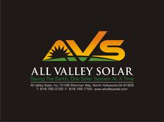 #allvalleysolar new logo with contact info on black background: www.allvalleysolar.com  Let me know what you think at @Ted Bavin