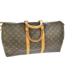 54cd904cb0fe AUTHENTIC LOUIS VUITTON MONO KEEPALL 45 TRAVEL BAG Beautiful bag, please  see pics, thx