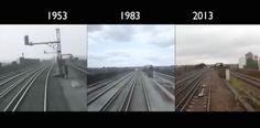 London to Brighton Train Journey. (1953-2013) Short Film. BBC South Today. [TV] UK.