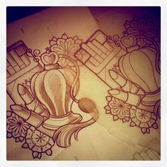 tattoos perfume | makeup_lipstick_tattoo_ciggs_perfume_sketch_art_tattoo_artist.jpg Love this! Though I would replace the smokes with something else maybe makeup brushes or killer shoes