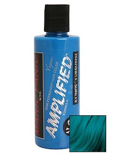 Manic Panic Amplified Semi-Permanent Atomic Turquoise Hair Dye,