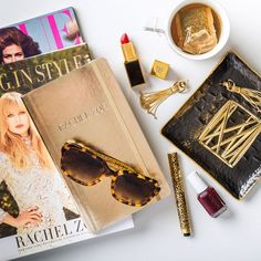 """Rachel Zoe """"I can't leave my house in the morning without English breakfast tea, layers of gold jewels and this pair of oversize tortoiseshell sunnies."""" Ashley Sunglasses, Coach $168"""