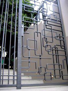 Forged steel security gates Australia - Wendie McCaffley: sculptor in steel