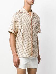 9ecf7a7e4 Gucci invite stamp bowling shirt Mens Designer Shirts, Designer Clothes For  Men, Bowling Shirts