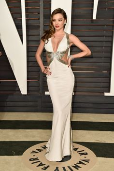 Miranda Kerr in Emilio Pucci at the Vanity Fair Oscar Party. Photo: Pascal Le Segretain/Getty Images
