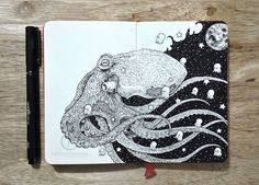Artist Kerby Rosanes Creates Amazing Drawings That Are Incredibly Detailed.