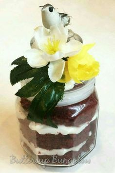 Festivities are all about happy moments, enjoyment and gifts.. This season gift your loved ones a jar filled with red velvet cake & mix sweetness with smiles!   To place orders, call : 9005522220