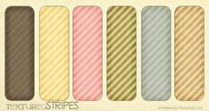 Combo pack of large * seamless Flat Grungy Summer Stripes textures in .jpg format as well as a corresponding Photoshop tileable pattern (. Photoshop Tips, Photoshop Elements, Photoshop Tutorial, Microsoft Word, Background Vintage, Background Patterns, Free Photoshop Patterns, Tool Design, Web Design