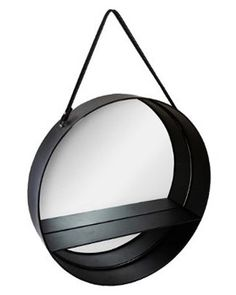 Peilihylly iso musta 55 cm - Sisustusliike Cimla Interior Mirror, Interior, Furniture, Home Decor, Corning Glass, Decoration Home, Indoor, Room Decor, Mirrors