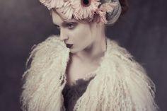 The Ether Euphoria | Papercut Magazine #felted #collar #scarf #fur #felting #galafilc