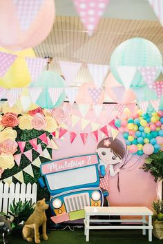 57 Ideas Birthday Background For Editing Happy For 2019 7th Birthday Party For Girls Themes, Girl Birthday Decorations, Fiesta Decorations, Birthday Backdrop, Party Decoration, Frozen Birthday Party, Birthday Background, Party Kulissen, Fiesta Theme Party