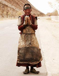 Le Tibet et le pèlerinage, Nick Onken, Dalai Lama, Nepal, Le Tibet, Photo Humour, Himalaya, Asia, Tibetan Buddhism, Pilgrim, People Around The World