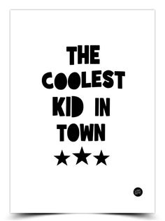 The product COOLEST KID - A3 is sold by Epic Design Shop in our Tictail store.  Tictail lets you create a beautiful online store for free - tictail.com