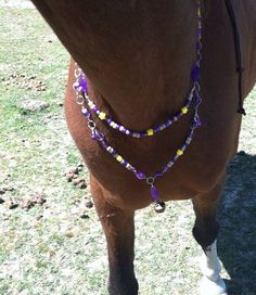 Rythm Beads for Horses Directions | Rhythm beads, playday purple, double tiered wire wrapped, horse ...