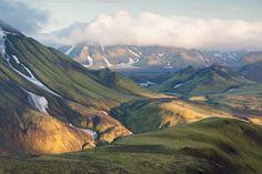 https://flic.kr/p/qWziAb | Volcanic landscape | Icelandic highlands