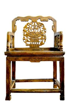 Chinese Elm Chair Asian Furniture, Chinese Furniture, Furniture Making, Antique Furniture, Painted Furniture, Furniture Design, Asian Chairs, Chinese Element, Love Chair