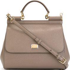 •Website: http://www.cuteandstylishbags.com/portfolio/dolce-gabbana-grey-small-sicily-tote/ •Bag: Dolce & Gabbana Grey Small 'Sicily' Tote